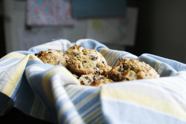 Honey Plum Scones Recipe