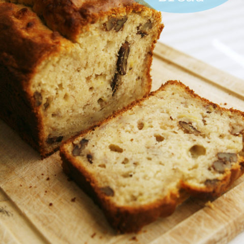 Pecan Banana Quick Bread Recipe