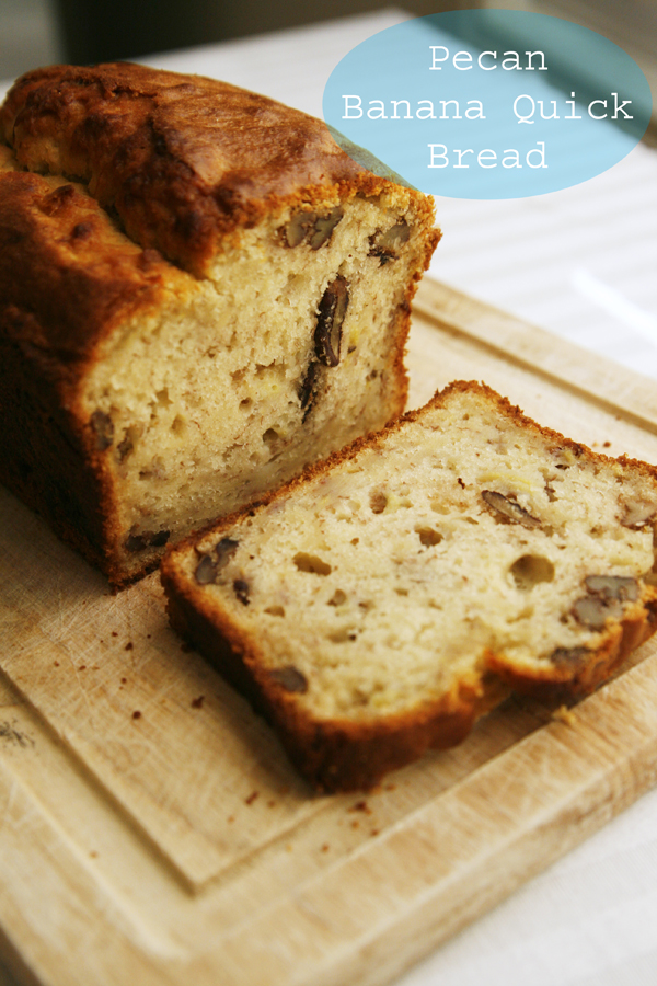 Pecan Banana Quick Bread Recipe