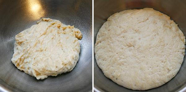 Rustic Bread Loaf Rising