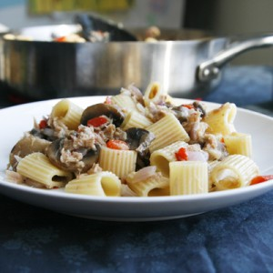Recipe for Mediterranean Tuna Pasta