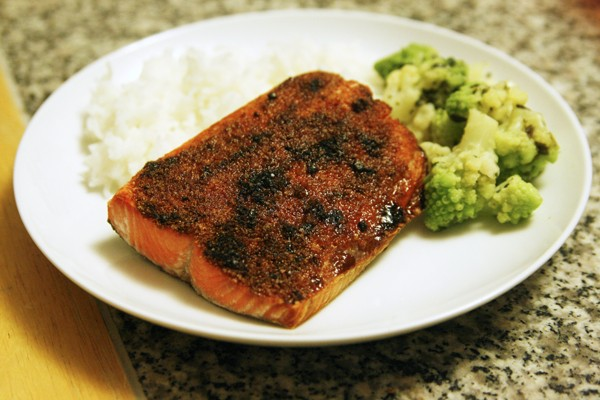 Broiled Sockeye Salmon Recipe
