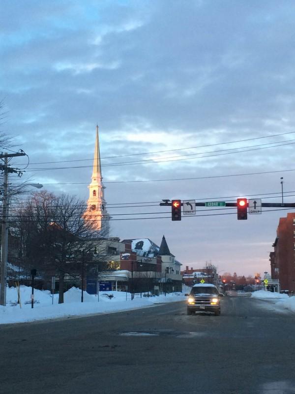 Downtown Bangor in January 2015