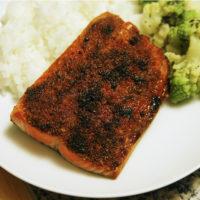 Broiled Sockeye Salmon