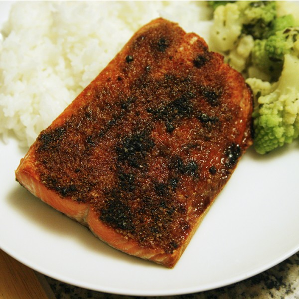 Recipe for Broiled Sockeye Salmon