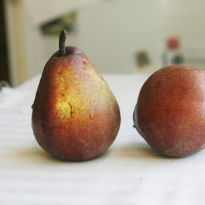 Red D'anjou pears 2