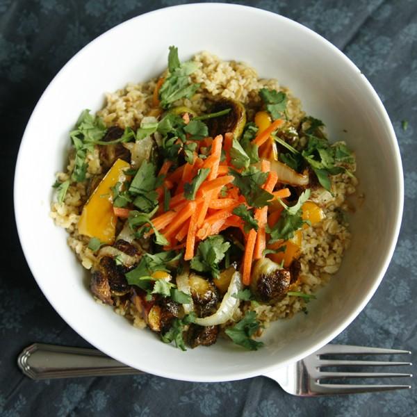 Roasted Vegetable Bowl Recipe