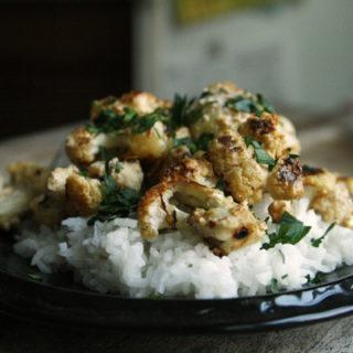 Spicy Cajun Roasted Cauliflower