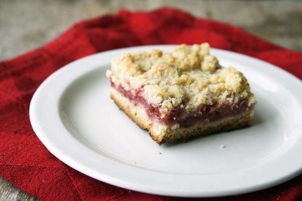 On Strawberry Crumb Bars, and Writing to Connect