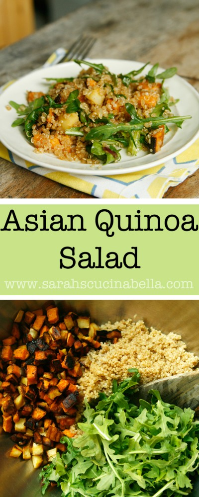 Asian Quinoa Salad Recipe - Pin