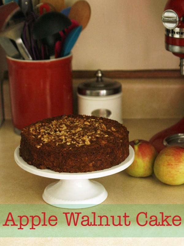 Apple Walnut Cake - Sarah's Cucina Bella