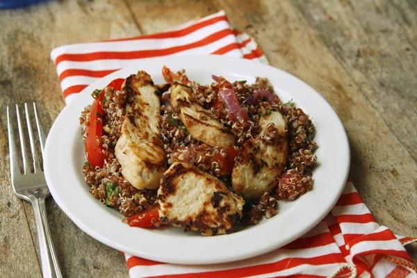 Chicken Fajita Quinoa