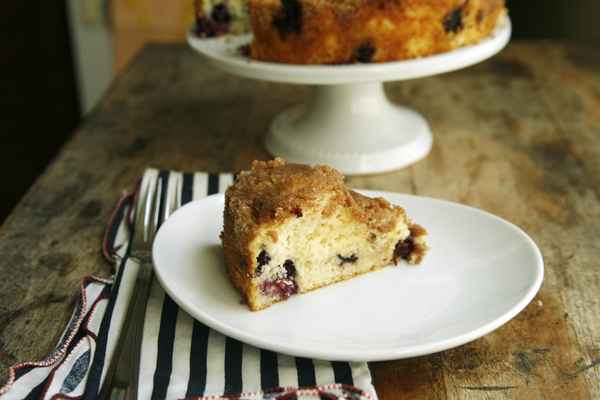 Old Fashioned Blueberry Coffee Cake - Sarah's Cucina Bella