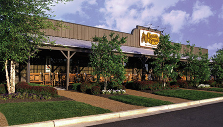 Photo courtesy of Cracker Barrel. This isn't the location we visited, but it did look similar.