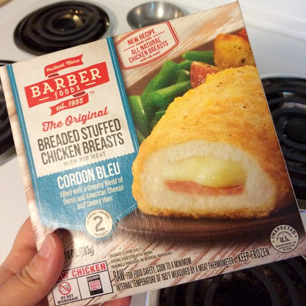 Barber Foods Chicken Cordon Bleu