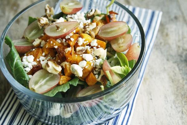 Butternut Squash Grape Salad