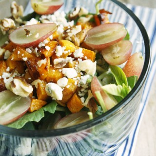 Butternut Squash Grape Salad recipe