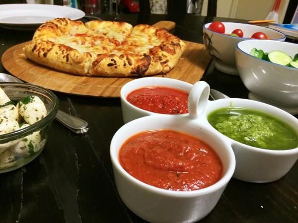 Dipping Sauce Trio Recipe