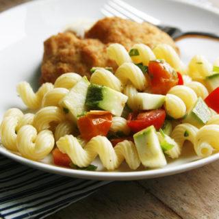 Lemon Parsley Pasta Salad recipe
