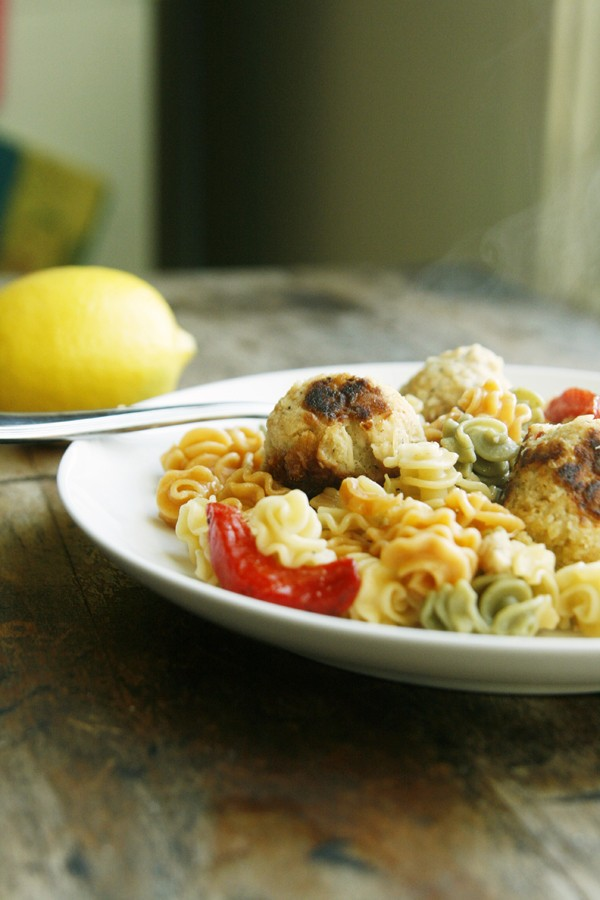 Zesty Lemon Tuna Meatballs