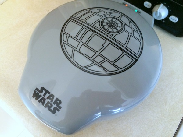Death Star Waffle Maker Review on Sarahs Cucina Bella