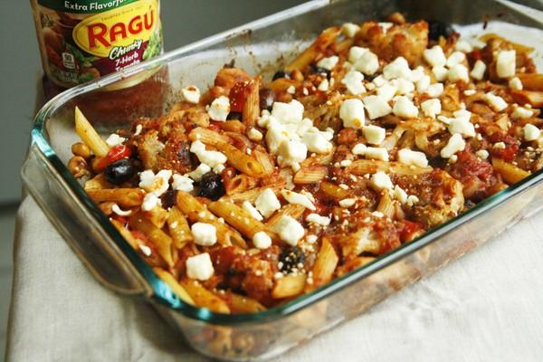 Mediterranean Pasta Bake Recipe