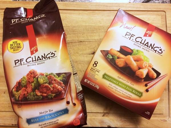 P F Changs At Home Menu