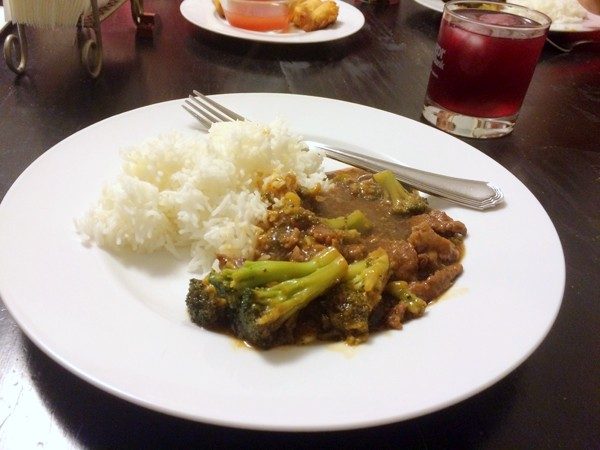 P F Changs Beef with Broccoli
