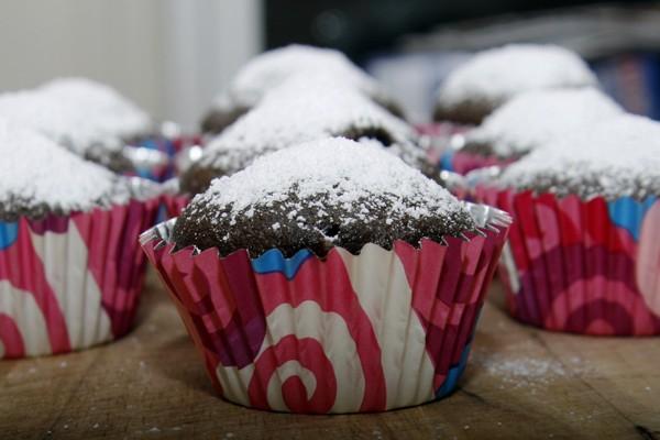One Bowl Chocolate Coffee Cupcake Recipe