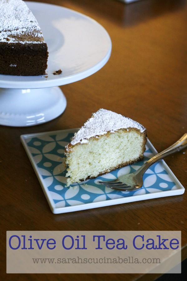 Olive Oil Tea Cake Recipe