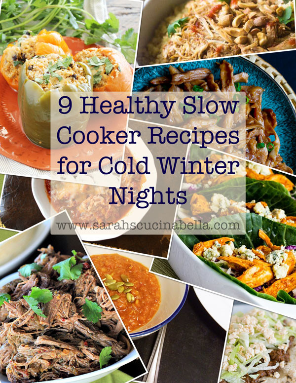 9 Healthy Slow Cooker Recipes for Cold Winter Nights