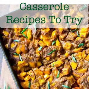 Healthy Dinner Casserole Recipes