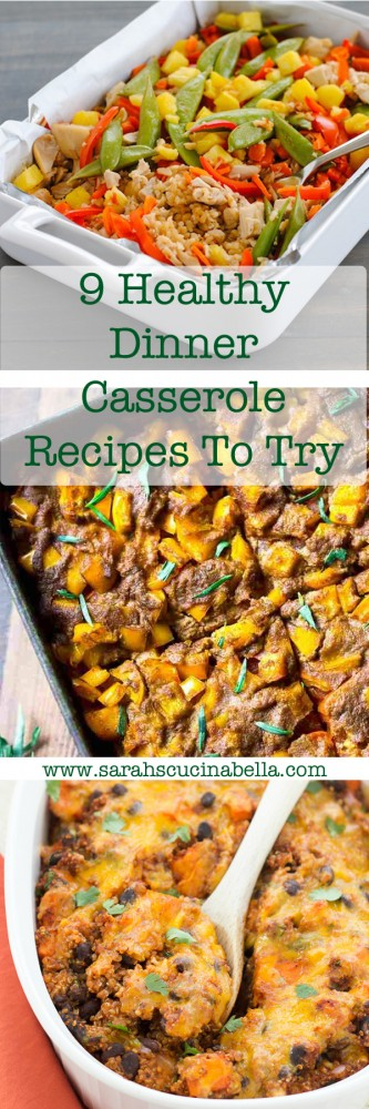 9 Healthy Dinner Casserole Recipes To Try