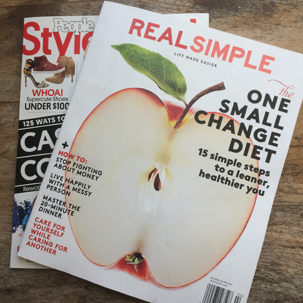 Real Simple and People Stylewatch