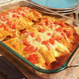 Easy Vegetable Enchiladas