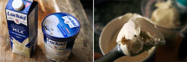 Lactaid Ice Cream and Milk