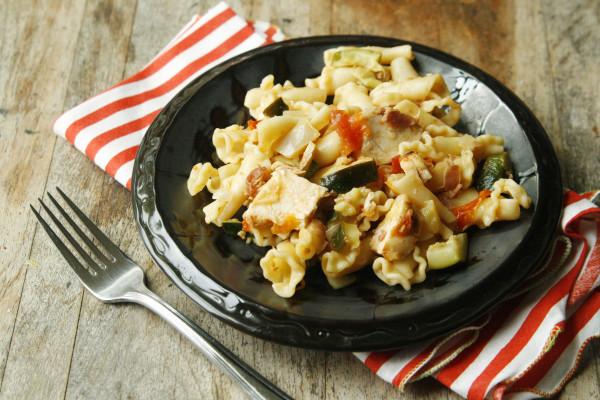 Recipe for Summery Chicken Bacon Pasta