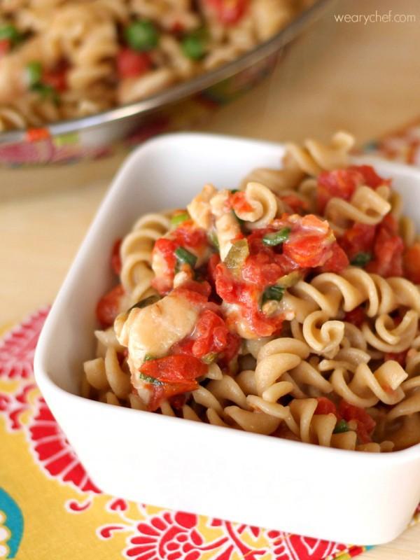 Mexican chicken pasta salad recipe