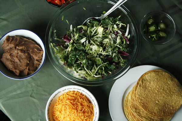 Make Your Own Tostada Bar