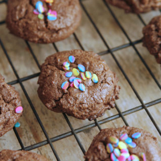 Recipe for Double Dark Chocolate Cookies Recipe