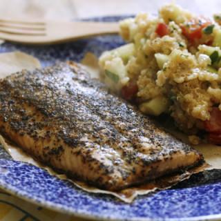 Bumble Bee Super Fresh Salmon with Lemon Shallot Quinoa