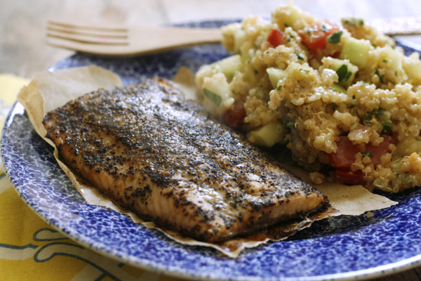 Bumble Bee Super Fresh Salmon with Lemon Shallot Quinoa
