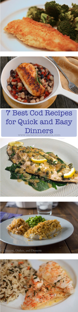 Best Cod Recipes for Dinners