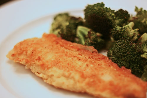 Easy Breaded Cod