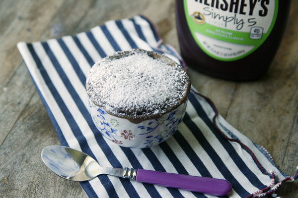 Easy Chocolate Cake for One Recipe