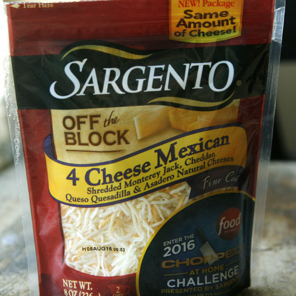 Sargeanto Four Cheese Mexican Blend Cheese