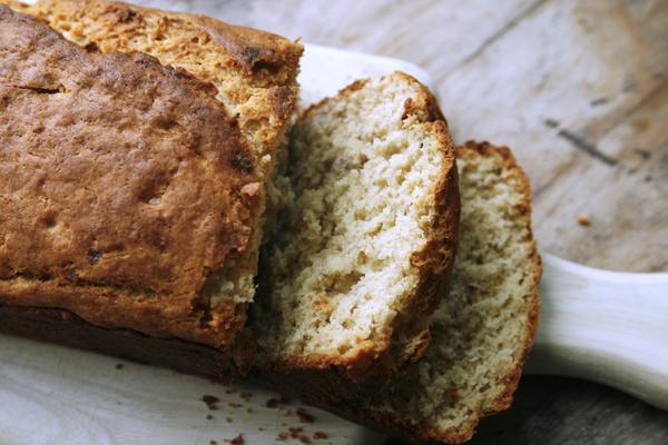 Peanut Butter Banana Bread Recipe - A Quick Bread