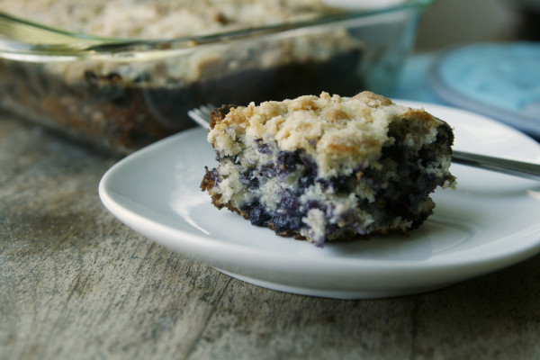 New on Maine Course: Blueberry Oatmeal Crumb Cake
