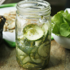 Dill Quick Pickles