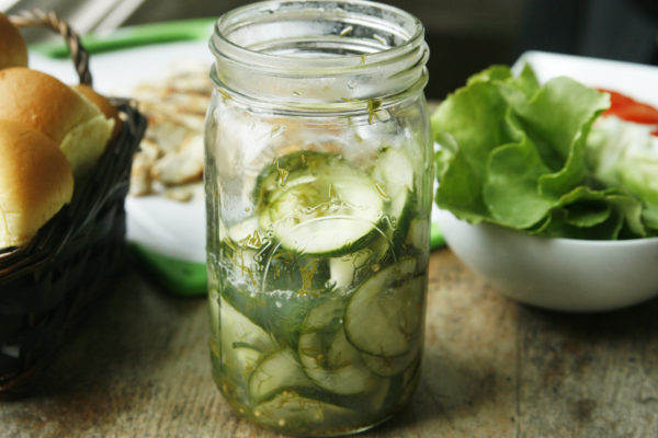 New on Maine Course: Dill Quick Pickles
